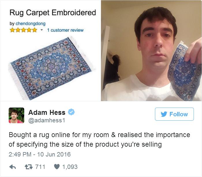 Emberek, akik borzasztóan csalódtak az online vásárlásban