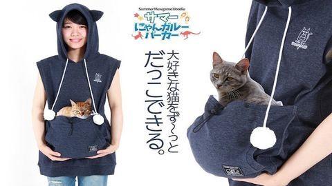 Itt a pulcsi, amit macskáddal közösen viselhettek
