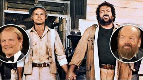 Terence Hill és Bud Spencer: különböztek, de nem vitáztak