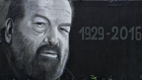 Egy magyar graffitis azonnal reagált Bud Spencer halálhírére