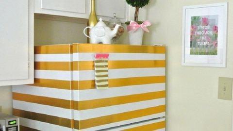 12 egyszerű megoldás, amivel egyedivé teheted az unalmas hűtődet