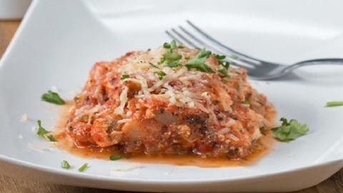 Cukkinis lasagne: olasz, zöldséges és nagyon finom vacsora