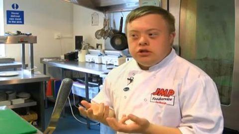 Végre állást kaphatott a Down-szindrómás férfi