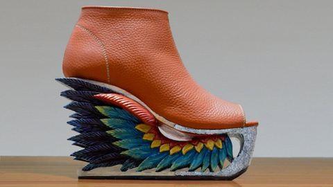 Hagyományos vietnami pagodák inspirálták az extravagáns cipőket