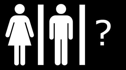 Milyen legyen a nem nélküli mosdó jelzése?