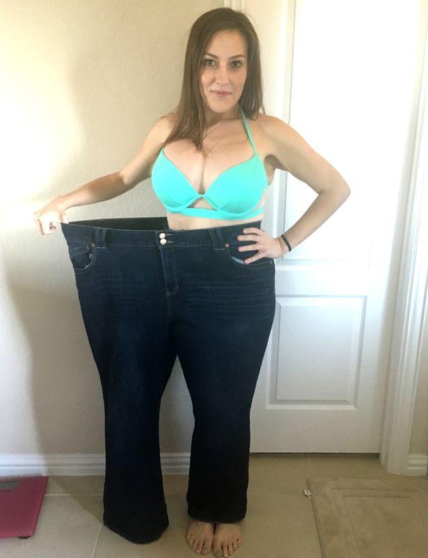 Rá sem lehet ismerni a lányra a 88 kilós fogyás után