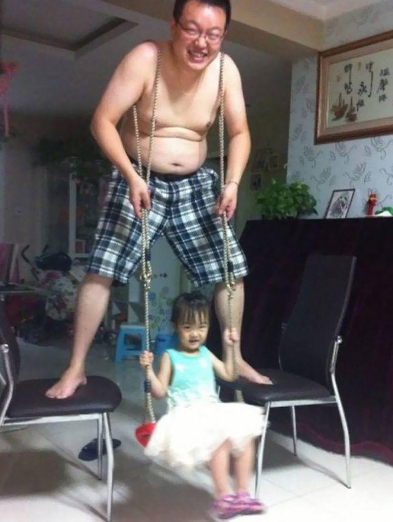Amikor apa egyedül marad a gyerekkel…