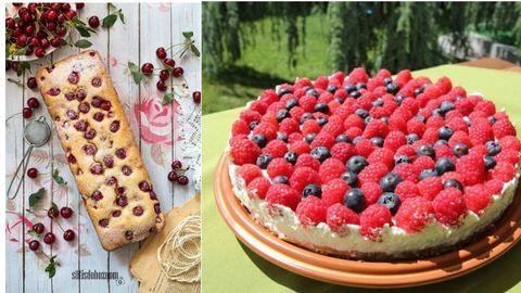 Egy málnás, egy meggyes: 2 csodás nyári édesség