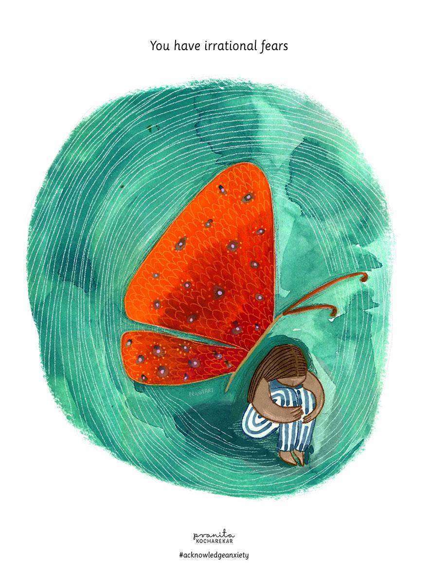 10 illusztráció, ami megmutatja, milyen szorongással élni