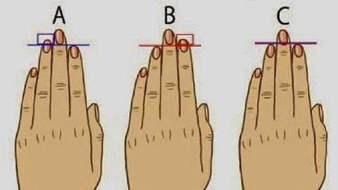 Teszt: Nézd meg az ujjaidat, és fény derül az igazi személyiségedre!