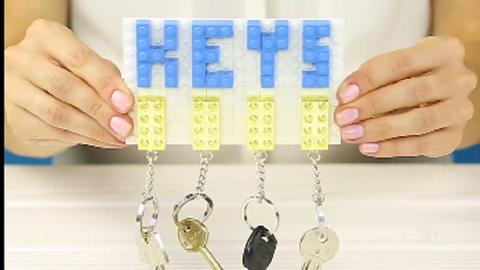 5 szuper legós dekorációs ötlet – videó
