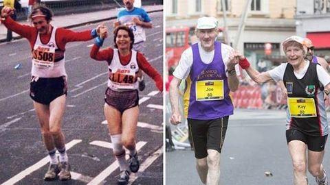 Maratonnal ünnepelte az 57. évfordulót az idős pár