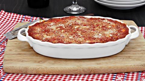 Nyári vacsora: padlizsános lasagne