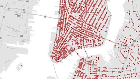 Az 1800-as évek New Yorkjának utcáin kalandozhatunk egy új online térképen