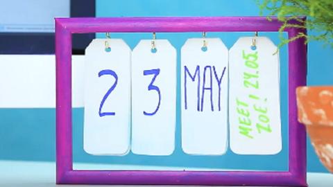 Ezzel a saját készítésű naptárral mindig tudod, hányadika van