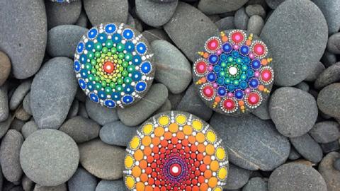 Csodás mandala kövek, különleges hatással lesznek az életedre
