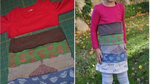 12 kreatív ötlet, hogy saját kezűleg varrj a gyerekednek ruhát