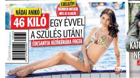 Nádai Anikó 46 kiló, nézd meg bikiniben