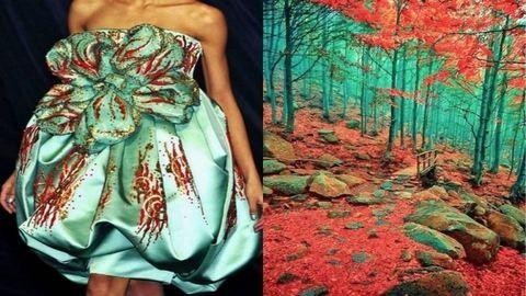 Káprázatos ruhák, amiket a természet inspirált