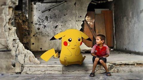 Szívszorító! Pokémonokkal kérik a gyerekek, mentsék ki őket Szíriából