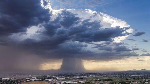 Elképesztő természeti jelenséget fotóztak