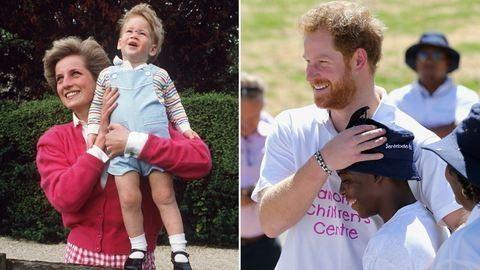 Ezért nem beszélt anyja haláláról Harry herceg