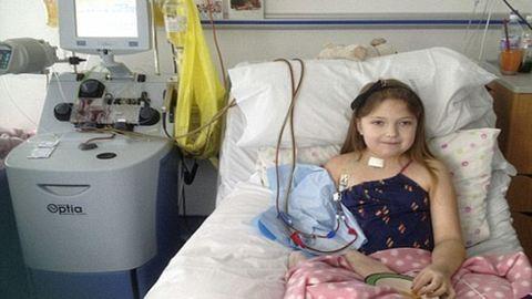 Veseátültetés után sem kaphat életmentő gyógyszert a kislány