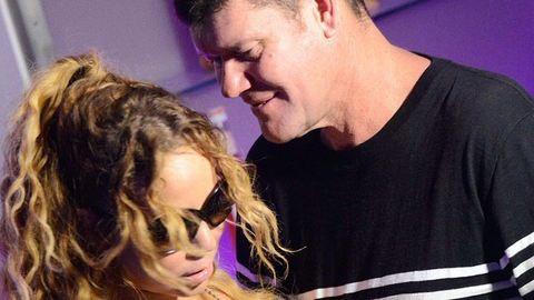 Mariah Carey-t nyilvánosan tapizza a vőlegénye