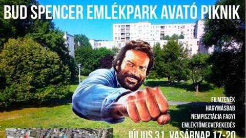 Óbudai park kapja meg Bud Spencer nevét