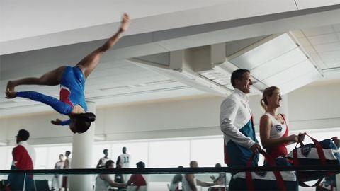 Olimpia, 2016: az amerikai olimpikonok megszálltak egy repülőteret – videó