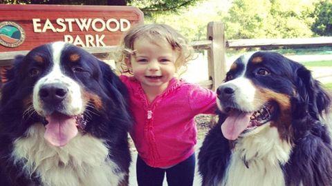 A legcukibb Insta-oldal: pöttöm gyerekek és hatalmas kutyák