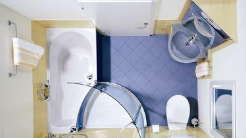 Szuper ötletek apró fürdőszobákba