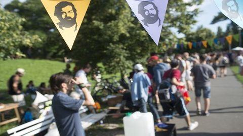 Bud Spencer Parkot avattak Budapesten