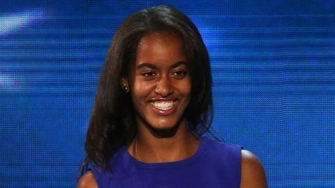 Barack Obama lánya villantott