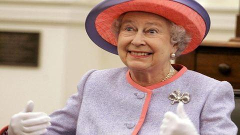 Már a felhők is az angol királynőnek tisztelegnek