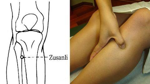 Egy pont a lábadon, ami egész testedre hatással lehet
