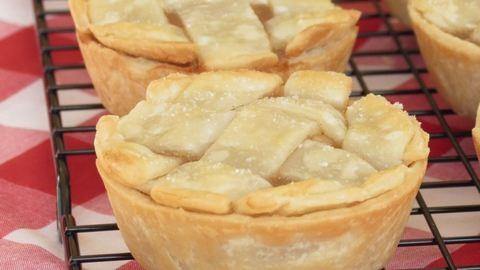 Isteni mini almás piték gyorsan, egyszerűen