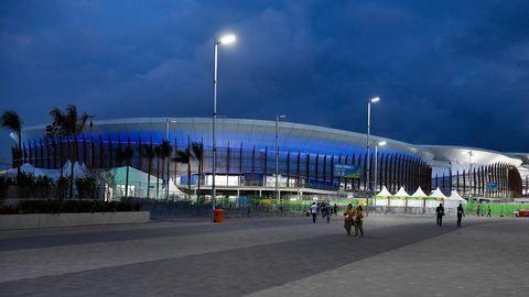 Olimpia 2016: Elhagyott csomagot semmisítettek meg a kosárcsarnokban