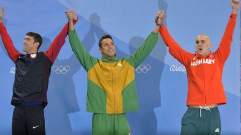 Michael Phelps olyan szépen beszélt Cseh Lászlóról, hogy azt látni kell!