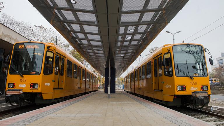 Csőtörés miatt pótlóbusz helyettesíti a 69-es villamost Zuglóban (Fotó: BKK)