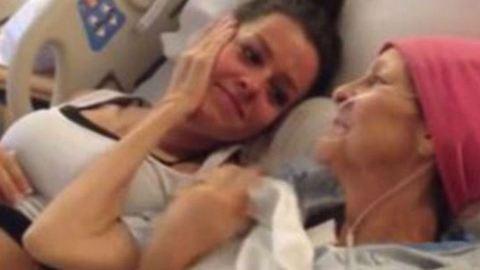 Még láthatta meg nem született unokáját a haldokló nagymama