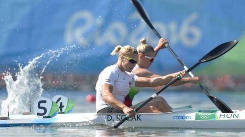 Olimpia 2016: Kozák Danuta 500 méteren is olimpiai bajnok