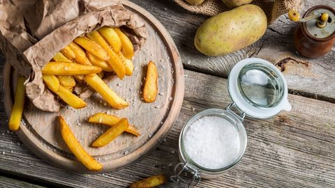 Sült krumpli, az amerikai kedvenc, ami belga
