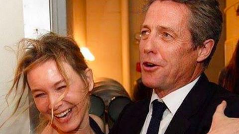 Hugh Grant nem ismerte meg Renée Zellwegert