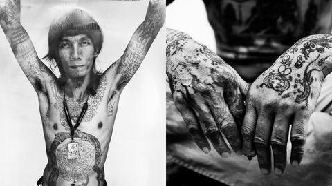 Megszentelt tetoválások, elűzik a gonoszt – fotók