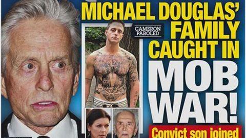 Michael Douglas fia beállt a maffiába?
