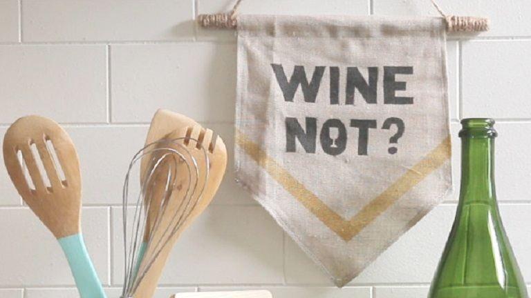 Dobd fel a konyhát egy ilyen menő zászlóval!
