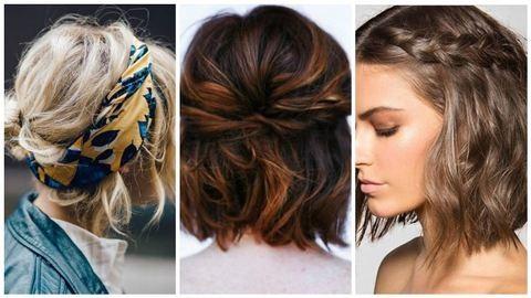 5 perces trendi frizurák rövid hajú hölgyeknek