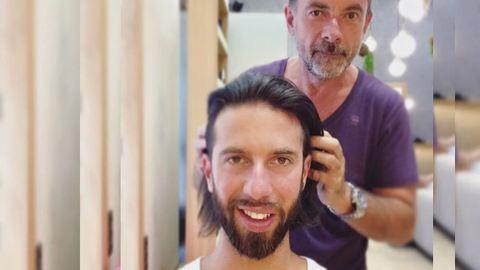 Varga Viktor levágatta a haját – egészen másképp fest