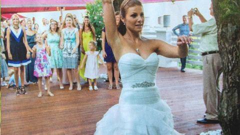 Gyönyörű menyasszony Sallai Nóra, a Jóban Rosszban sztárja